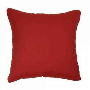 Humble and Haute Red Indoor/ Outdoor Square Throw Pillows (Set of 2) (18 in h x 18 in w)