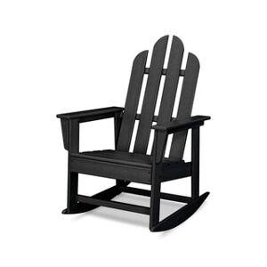 POLYWOOD® Long Island Outdoor Rocking Chair (Black)