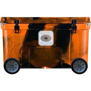 Vortex Elite Series 78-Quart Rotational-Molded Customizable Cooler System with 2 Sets of Standard Wheels,BlazeOrangeCamo