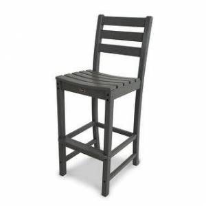 Polywood Trex Outdoor Furniture Monterey Bay Bar Side Chair (Stepping Stone)