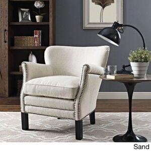 Modway Key Fabric Armchair (Sand)