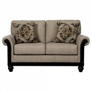 Signature Design by Ashley Blackwood Traditional Taupe Loveseat (Taupe)