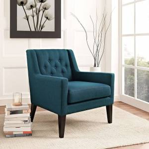 Modway Earnest Fabric Armchair (Off-White)