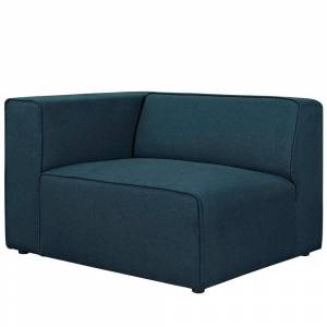Modway Fabric Left-Facing Sofa (Blue)