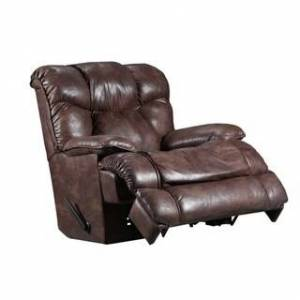 Silver Lake Mayhill Manual Heat & Massage Wall Saver Recliner (leather look - brown - Polyester)