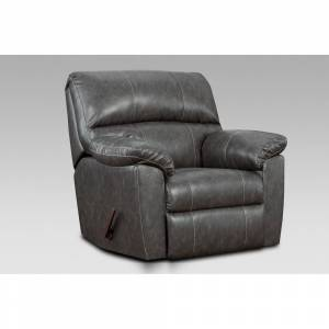 Chelsea Home Furniture Simon Stallion Charcoal Rocker Recliner (Charcoal)