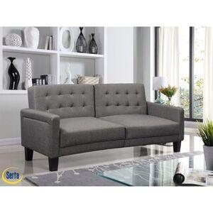 Serta® Omaha Convertible Sofa (Grey)