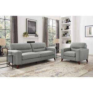 Coja Malkin Genuine Leather Sofa and Chair Set