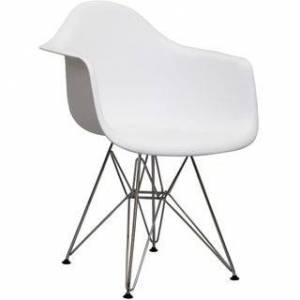 Overstock Dining Armchair (White)