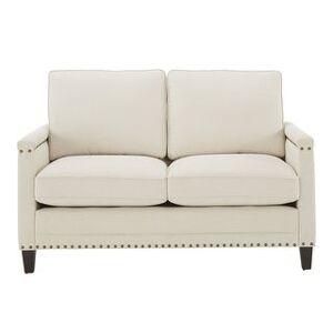 Copper Grove Hersfeld Ivory Fabric Sofa or Loveseat with Nailhead Trim (Loveseat)