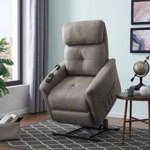 Copper Grove Polletts Grey Power Recline and Lift Chair (Grey)