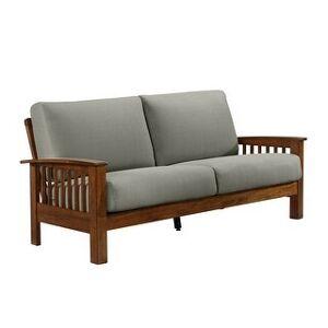 Carson Carrington Mid-century Mission Style Sofa (Grey)