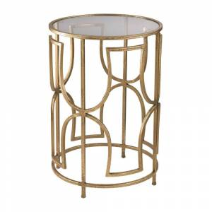 Sterling Modern Forms Accent Table (Gold)