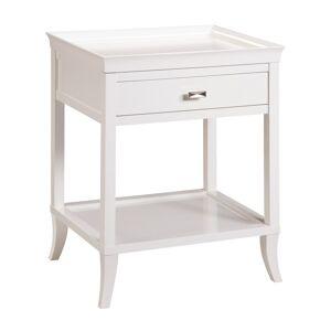 Sterling Tamara White Side Table