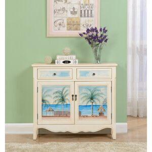 Somette Key Largo  Seaview Two Drawer, Two Door Cupboard - 2 Door (Multi - Wood)