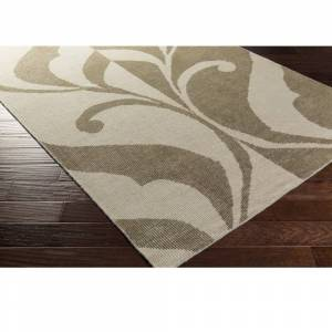 Overstock Hand Knotted Cristo Wool Area Rug (8' x 10' - Olive)