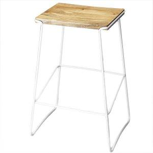 Butler Specialty Butler Parrish Wood and Metal Bar Stool (White)