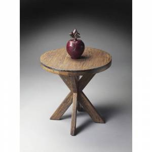 Butler Handmade Butler Praline End Table (Medium Brown)