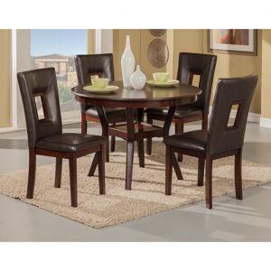 Alpine Segundo Espresso 5-piece Dining Set (Segundo 5 Piece Dining Set)