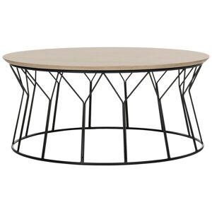 "Safavieh Mid-Century Deion Wood Coffee Table - 35.4"" x 35.4"" x 15.8"" (FOX4259A)"