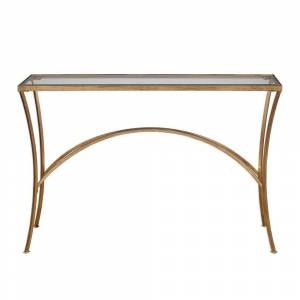 Uttermost Alayna Gold Console Table (Console Table)