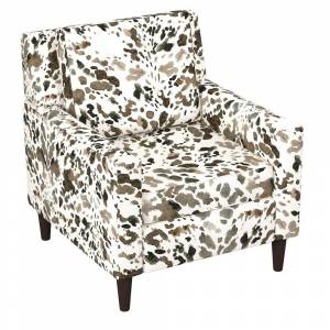 Skyline Furniture Graphic Prints Accent Chair (Black)