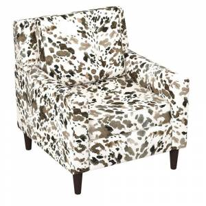 Skyline Furniture Graphic Prints Accent Chair (Yellow)