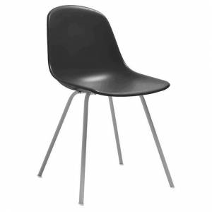 Design Lab MN Grazia Side Chair (Set of 4) (Slate - Upholstered/Metal)