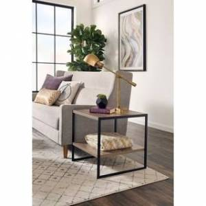 Overstock ClosetMaid Industrial End Table (Gray)
