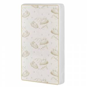 Dream on Me 23 Dream On Me 2-In-1 Breathable Two-Sided Portable/MINI Crib Coil Mattress. (White)