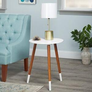 Simple Living Julia End Table (White)
