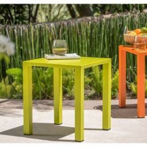 Christopher Knight Home Windsor Outdoor 16-inch Square Aluminum Side Table by Christopher Knight Home (Green)