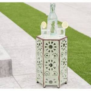 Christopher Knight Home Eliana Outdoor 12-inch Side Table by Christopher Knight Home (Green)