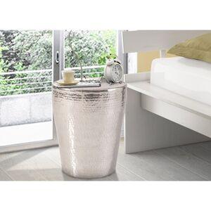 Scandinavian Living Gerald Aluminum Coffee Table - Silver (Gerald Side Table, aluminium)