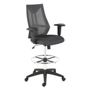 EdgeMod Benicia Drafting Chair (Grey)