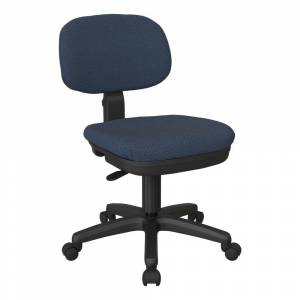Office Star Products Work Smart Basic Task Chair (Navy)