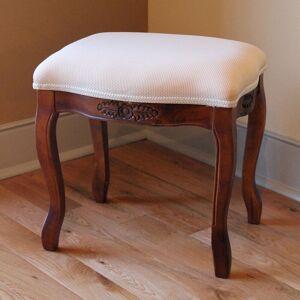 International Caravan Windsor Vanity Cushioned Top Stool (Fabric)