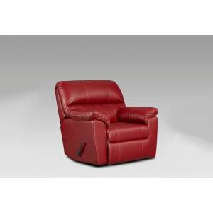 Chelsea Home Furniture Buckland Austin Red Chaise Rocker Recliner