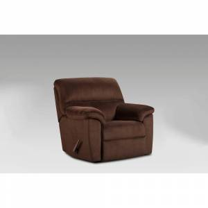 Chelsea Home Furniture Simon Chevron Mink Rocker Recliner