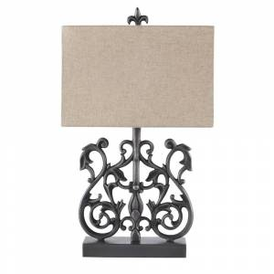Signature Design by Ashley Capper Metal Table Lamp (1/CN)
