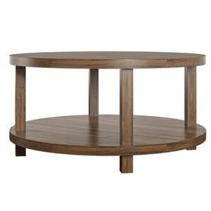 Novogratz Oakdale Walnut Coffee Table (Walnut Finish)
