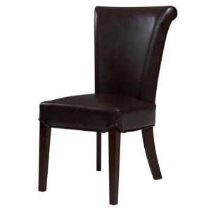 Overstock Bentley Bonded Leather Chair,Set of 2 (Mocha)