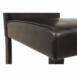 Signature Design by Ashley Kimonte Dining Room Chair - Set of 2 - Dark Brown - N/A