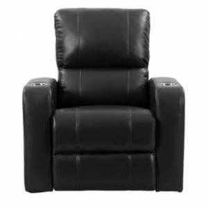 CorLiving Leather Gel Home Theatre Power Recliner with USB Port (Black)