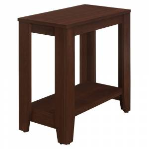 Overstock Accent Table - Cherry (Reclaimed Wood - Cherry)