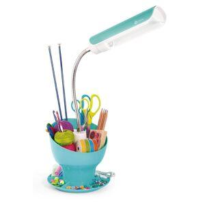OttLite Technologies OttLite Craft Space Organizer Lamp, Turquoise (Turquoise)