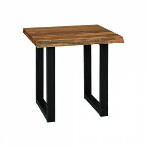 Signature Design by Ashley Brosward Square Live Edge End Table