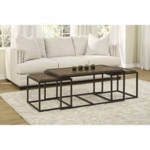 Martin Svensson Home Huntington Nesting Coffee and End Table Set (Natural)