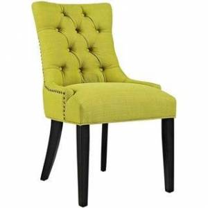 Overstock Fabric Dining Chair (Wheat)