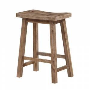 Overstock Wooden Frame Saddle Seat Counter Height Stool with Angled Legs, Gray (Single - Counter Height - 23-28 in.)